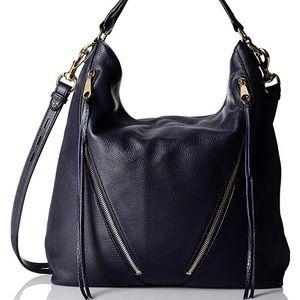 Rebecca Minkoff Moto Hobo Bag Navy blue